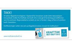 Bygdekvinnelagene i Oppland stiller nok en gang opp for Krafttak mot kreft og gjør en uvurderlig innsats.