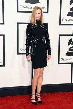 Nicole Kidman in Mugler 2015 Grammys: Rachel Zoe's Best Dressed List | The Zoe Report