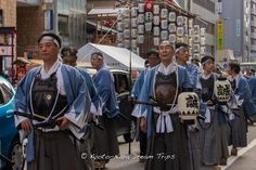 These fellas where walking around yesterday during Yoiyama on the Eve of Gion Matsuri in Kyoto! I don't know what they where up to, but they where heavily armed! #Yoiyama, #GionMatsuri, #Kyoto, #Japan,