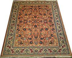 alfombras 200 x 250 | Alfombras barcelona   Alfombra Yazd Irán 247 x 199 cm Lana Ref: L – 132