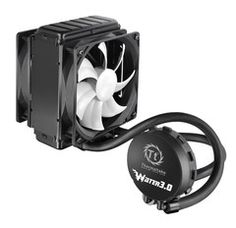 Thermaltake Water Pro Closed Loop Water Cooler - CPU support for socket Maintanence Free, High Performance Copper Waterblock. Radiator, Dual PWM fans, 1200 - Easy and Simple Installation, 2 Year Warranty Water 3, Cooling System, Media Center, Headset, All In One, Pumps, Best Deals, Coolers, Fans