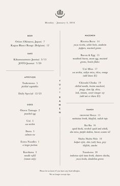 Restaurant menu design, simple and modern. Menu Restaurant, Restaurant Design, Cafe Menu Design, Restaurant Identity, Modern Restaurant, Bar Menu, Ppt Design, Food Menu Design, Graphic Design
