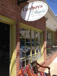 Cowboys and Angels is the greatest little shop on historic main street in Sykesville, MD. Shabby chic western gifts and accessories.