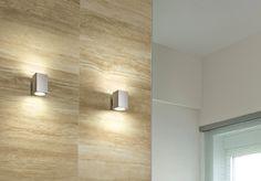 ANDROMEDA - Single/double emission wall lamp, ideal for the lighting of corridors and entrances. #LED #light_e_design #design #illumination #lamp #lightdesign #lighting #lamp #pendant #iluminacion #decor #office #decoracion #lampara