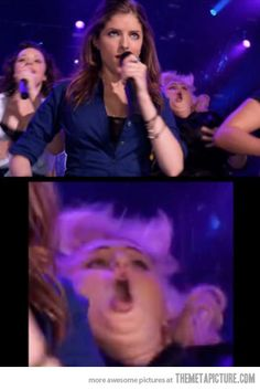 Celebs Discover I love pitch perfect although I have seen Fat Amy do that! I can& wait for pitch perfect! Funny Cute The Funny Funny Pics Funny Pictures Can& Stop Laughing That& Hilarious Freaking Hilarious Haha I Love To Laugh Laughing So Hard Really Funny Memes, Stupid Funny Memes, Funny Relatable Memes, Haha Funny, Funny Cute, Funny Stuff, Funny Images, Funny Meme Pictures, Freaking Hilarious