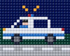 Perler Bead Emoji, Perler Beads, Cross Stitching, Cross Stitch Embroidery, Cross Stitch Patterns, Pixel Crochet, Crochet Cross, Melty Bead Patterns, Beading Patterns