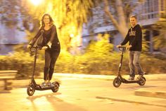 Our Egret 10 scooters are fast and easy to ride! No more cars, bus or taxi in Palma! #escooter #electricvehicle