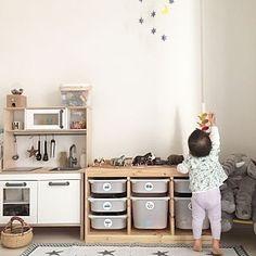 無印良品/ナチュラル/IKEA/子供部屋/おままごとキッチン/3Coins...などのインテリア実例 - 2016-03-29 08:57:31