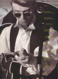 David Bowie 1990 SOUND+VISION tour  May 21Tacoma DomeTacoma, WA
