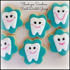 Thank you cookies for my dental office that always goes above and beyond:-)