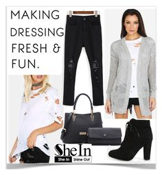 """""""3#SheIn"""" by kiveric-damira ❤ liked on Polyvore"""