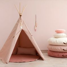 Nobodinoz Pure Line - Nevada tipi - Bloom roze Nevada, Nursery Room, Kids Bedroom, Kids Rooms, Nursery Ideas, Puppy Room, Teepee Kids, Teepees, Kids Bunk Beds