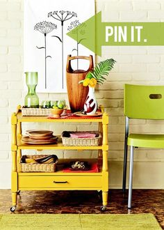 Michael, from Inspired by Charm, shows you how to decorate your bar cart! See the full post on Style Spotters: http://www.bhg.com/blogs/better-homes-and-gardens-style-blog/2013/07/22/pin-it-get-it-bar-cart-styling/?socsrc=bhgpin072313barcarts