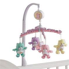 carebear nursery   care bear baby crib musical mobile sku care bears mobile in stock ...