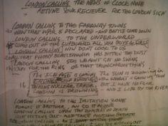 london_calling_lyrics Joe Strummer