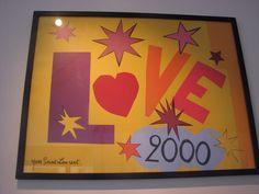 YSL love poster 2000
