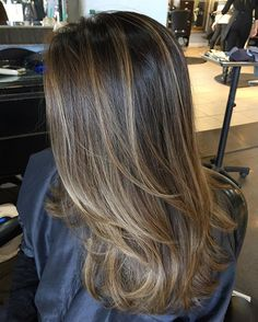 Ideas For Purple Hair Highlights Ombre Brown Brown Hair Balayage, Brown Blonde Hair, Balayage Brunette, Hair Color Balayage, Brunette Hair, Hair Highlights, Ombre Hair, Purple Hair, Ombre Sombre
