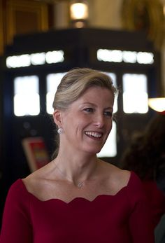 Countess of Wessex - Sophie, Countess Of Wessex Hosts Reception To Mark 50th Anniversary Of Doctor Who