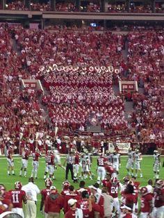 Love the University of Alabama Band