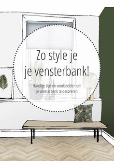 This is how you style your windowsill - Modern Shabby Chic Buffet, Interior Design Tips, Interior Design Living Room, Interior Decorating, Bedroom Prints, Room Decor Bedroom, Kitchen Table Makeover, Home Library Design, Love Home