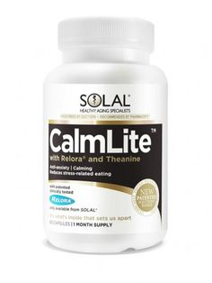 CalmLite™ is recommended for individuals who are occasionally anxious, feel stressed or struggle with stress-related eating habits. Contains Relora®, a proprietary blend of herbal extracts from Magnolia officinalis bark and Phellodendron amurense bark that help balance the stress hormones cortisol and DHEA. Theanine is an amino acid found in green tea that supports a healthy stress response, promoting relaxation, focus and memory.