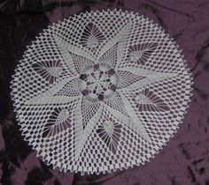 One of the many doilies I have crocheted