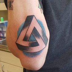 40 Unique Triangle Tattoo Meaning and Designs - Sacred Geometry