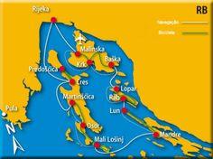 Rotas do Vento - Croácia - Navegação e Bicicleta em Kvarner
