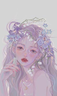 Cute Little Drawings, Cute Drawings, Anime Girl Drawings, Beautiful Anime Girl, Cartoon Art Styles, Wallpaper Pictures, Girl Cartoon, Aesthetic Art, Art Girl