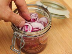 Savanyított lilahagyma recept lépés 6 foto