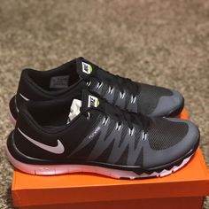 newest 181f5 17e49 Nike Shoes   New Nike Free Trainer   Color  Black White   Size