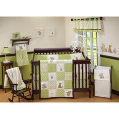 Green Crib Bedding Sets