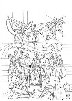 edgy x men coloring pages deviant art - Google Search | amazing ...