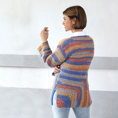 Yarnspirations is the spot to find countless free easy crochet patterns, including the Red Heart Must-Have Crochet Mitered Tunic. Browse our large free collection of patterns & get crafting today! Filet Crochet, Diy Crochet, Crochet Top, Crochet Blouse, Easy Crochet Patterns, Crochet Fashion, Pullover, Crochet Clothes, Must Haves