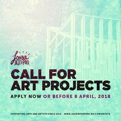 Festivalul Jazz in the Park lansează, pentru al patrulea an consecutiv, Fondul Jazz in the Park, mecanismul prin care participanții susțin arta și se implică în comunitate. Anul acesta organizatorii festivalului își propun să strângă din bilete neobligatorii 30.000 de euro, bani din care să finanțeze cel puțin trei proiecte artistice. Deadline  8 aprilie 2018.