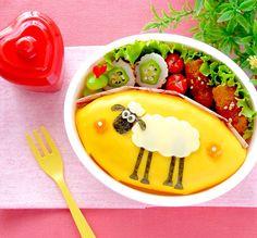 ザッキー's dish photo キャラ弁コンテスト ひつじのショーン | http://snapdish.co #SnapDish #レシピ