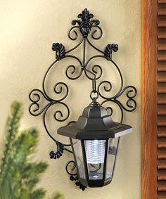 Love this Trellis Garden Solar Lantern on #zulily! #zulilyfinds