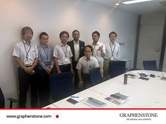 GRAPHENSTONE JAPAN presented our products at Finishing Material Group the Takenaka Corporation in Chiba (Japan) Takenaka Corporation is considered the world's oldest business in the construction market with more than 400 years of history. The R & D department will test Graphenstone paints and mortar for the purpose of using them in future works.