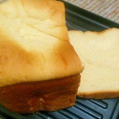 HB簡単にしっとりふわふわクリームチーズ入り食パン
