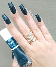 Lindoooo nails em 2019 nail art, nails e classy nails. Sexy Nails, Classy Nails, Stylish Nails, Trendy Nails, Toe Nails, Short Nail Designs, Dream Nails, Gorgeous Nails, Short Nails