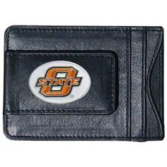 NCAA Oklahoma State Cowboys Cash and Card Holder by Siskiyou. $15.99. Our genuine leather Oklahoma St. Cowboys money clip/cardholder is the perfect way to organize both your cash and cards while showing off your school spirit!