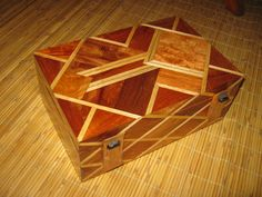 EDITOR'S CHOICE (12/8/2012): Two Tone Grilled Diamond Box by BertFlores58   View details here: http://lumberjocks.com/projects/75282
