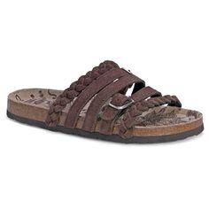 Women's MUK LUKS® Terri Footbed Sandals : Target