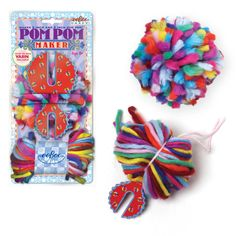 Possible wholesale company. #diy #pompom maker! Makes GIANT pom poms, by #eeBoo