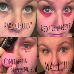 Covering dark circles can be super easy!!! #Younique lipliner in primal and concealer in organza!!   Www.youniqueproducts.com/Tonihawkins