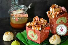Recette brownie rocky road au chocolat, marshmallow, noix et caramel - Recette de Noël