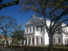Stellenbosch University Countryside, South Africa, Buildings, University, Mansions, House Styles, Travel, Viajes, Manor Houses
