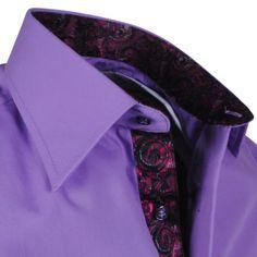 Exclusive trendy Italian purple Ferlucci dress shirt http://eurodress.co.nz?utm_content=bufferff109&utm_medium=social&utm_source=pinterest.com&utm_campaign=buffer Sign up for our newsletter to get 15% off! #menswear #fashion #european #trendy