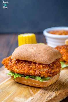 KFC Zinger Burgers | Slimming World & Weight Watchers Friendly