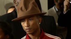 Pharrell Williams' hat from Grammys goes viral: 7 favorite memes - 01/27/2014 | Entertainment News from OnTheRedCarpet.com #millinery #judithm #hats #hatmaking